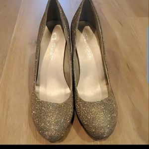 CL by Laundry Nilah Champagne Pumps Size 8